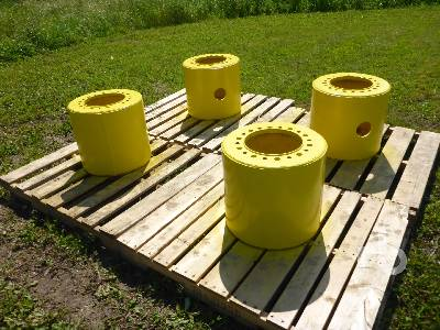 JOHN DEERE (4) Wheel Spacers Agricultural Equipment - Other