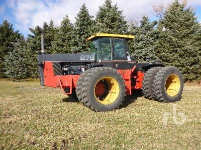 VERSATILE 876 4WD Tractor