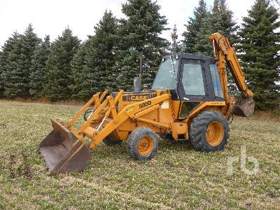 1981 CASE 580D Loader Backhoe