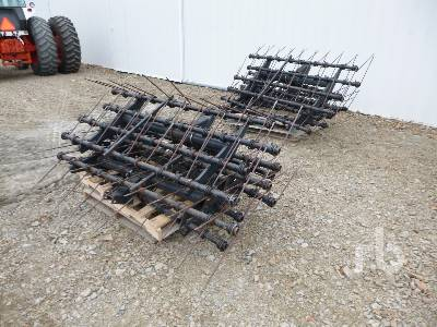 BOURGAULT Qty Of 6 4 Bar Mounted Harrows