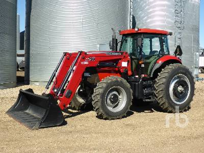 2014 CASE IH 140A MFWD Tractor