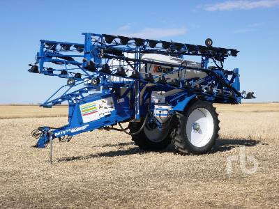 2008 BRANDT SB4000 100 Ft High Clearance Field Sprayer