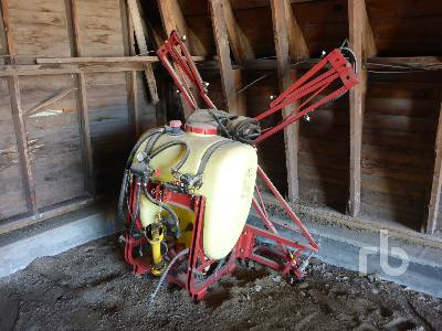 1990 HARDI NK300 26 Ft 3 Point Hitch Estate Sprayer
