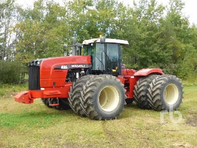 2011 VERSATILE 485 4WD Tractor