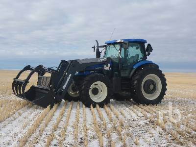 2007 NEW HOLLAND TS 135 2WD Tractor