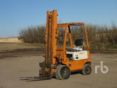 1988 TOYOTA 2FGH15 Forklift