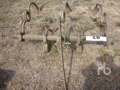 CUSTOM BUILT 5 Ft 3 Point Hitch Cultivator