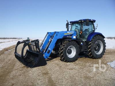 NEW HOLLAND T7.210 MFWD Tractor