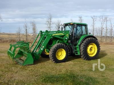 2006 JOHN DEERE 7520 MFWD Tractor