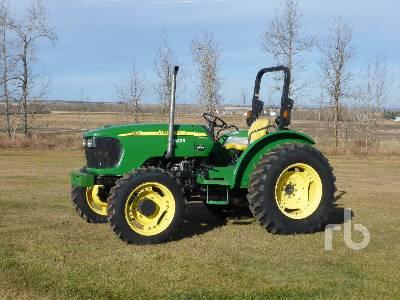 2007 JOHN DEERE 5325 MFWD Utility Tractor