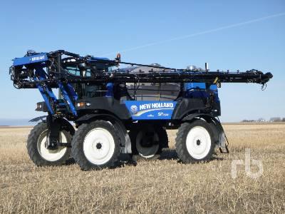 2012 NEW HOLLAND SP.365 120 Ft High Clearance Sprayer
