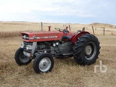 1975 MASSEY FERGUSON 135 2WD Tractor