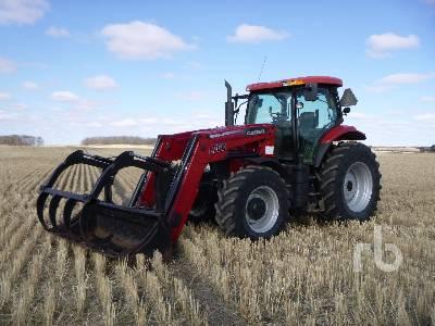 2010 CASE IH PUMA 125 MFWD Tractor