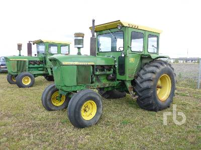 1967 JOHN DEERE 4020 2WD Antique Tractor