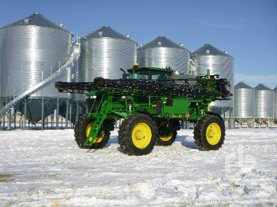 2012 JOHN DEERE 4830 100 Ft High Clearance Sprayer