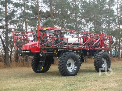 2008 CASE IH SPX3320 100 ft High Clearance Sprayer