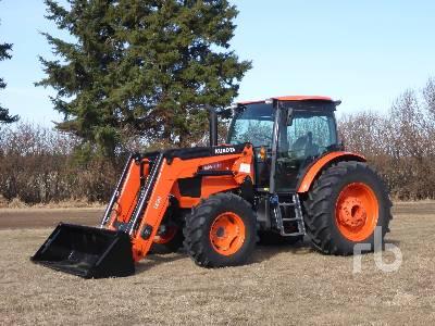 2018 KUBOTA M6-141 MFWD Tractor