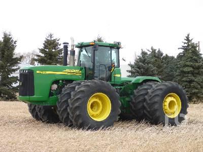2005 JOHN DEERE 9520 4WD Tractor