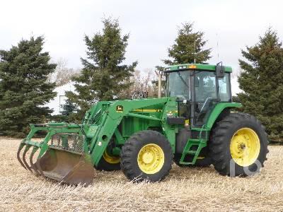 2000 JOHN DEERE 7610 MFWD Tractor