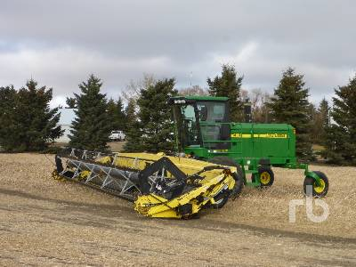 2006 JOHN DEERE 4895 30 Ft Swather