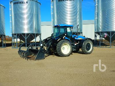 2012 NEW HOLLAND TV6070 Bi-Directional Tractor