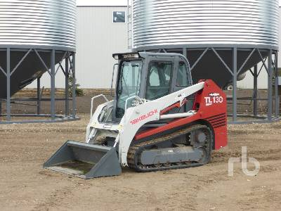 2007 TAKEUCHI TL130 2 Spd Multi Terrain Loader