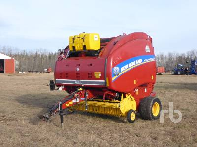 2015 NEW HOLLAND 560 ROLL BELT Round Baler