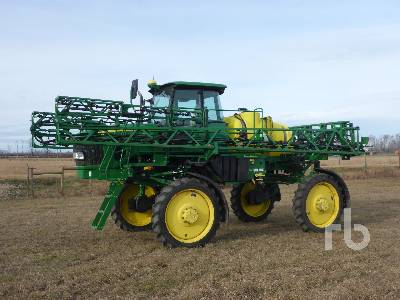 2012 JOHN DEERE 4630 80 Ft High Clearance Sprayer
