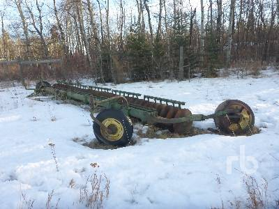 JOHN DEERE 1200 20 Ft One Way Surflex Disc Harrow