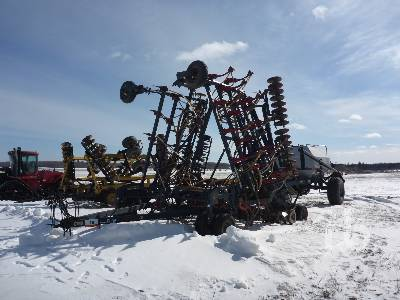 1993 FLEXICOIL 5000 40 Ft Tow-Behind Air Drill