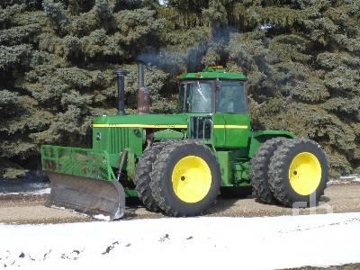1977 JOHN DEERE 8630 4WD Tractor