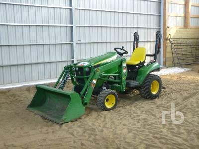 2011 JOHN DEERE 1023 E Utility Tractor
