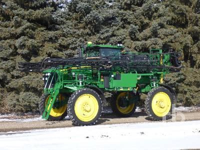 2011 JOHN DEERE 4730 100 Ft High Clearance Sprayer