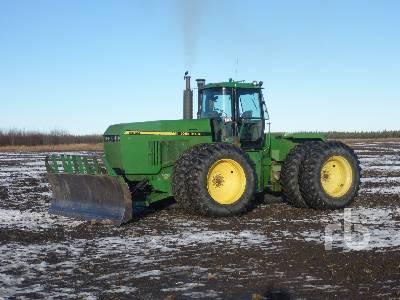 1992 JOHN DEERE 8960 4WD Tractor