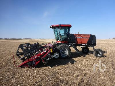 2012 CASE IH WD1203 30 Ft Swather