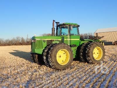 1985 JOHN DEERE 8450 4WD Tractor