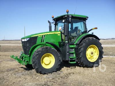 2014 JOHN DEERE 7250R MFWD Tractor