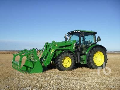2014 JOHN DEERE 6125R MFWD Tractor