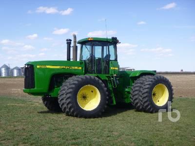 1997 JOHN DEERE 9100 4WD Tractor