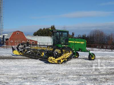 2008 JOHN DEERE 4895 30 Ft Swather