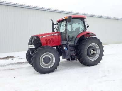 2012 CASE IH PUMA 130 MFWD Tractor