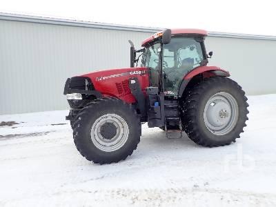 2011 CASE IH PUMA 185 MFWD Tractor