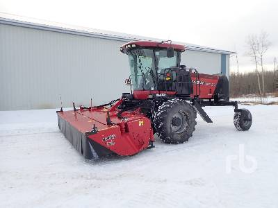 2012 CASE IH WD1903 16 Ft Disc Self Propelled Mower Conditioner
