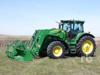 2008 JOHN DEERE 7830 MFWD Tractor