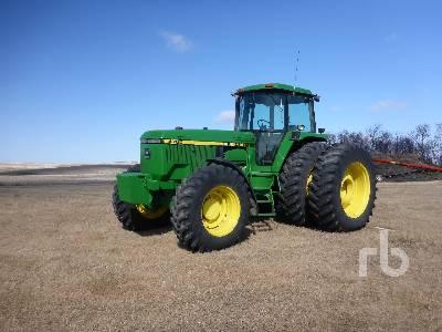 1993 JOHN DEERE 4760 MFWD Tractor