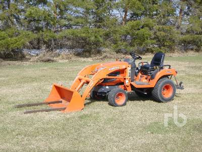 2011 KUBOTA BX2360 4WD Utility Tractor