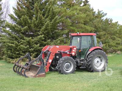 2006 CASE IH JX95 MFWD Tractor