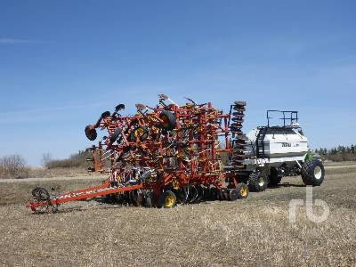 2001 BOURGAULT 5710 Series II 54 Ft Air Drill
