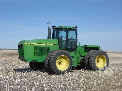1991 JOHN DEERE 8560 4WD Tractor