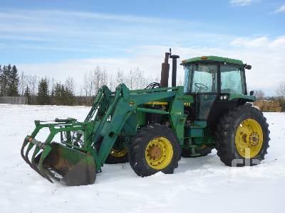 JOHN DEERE 4055 MFWD Tractor